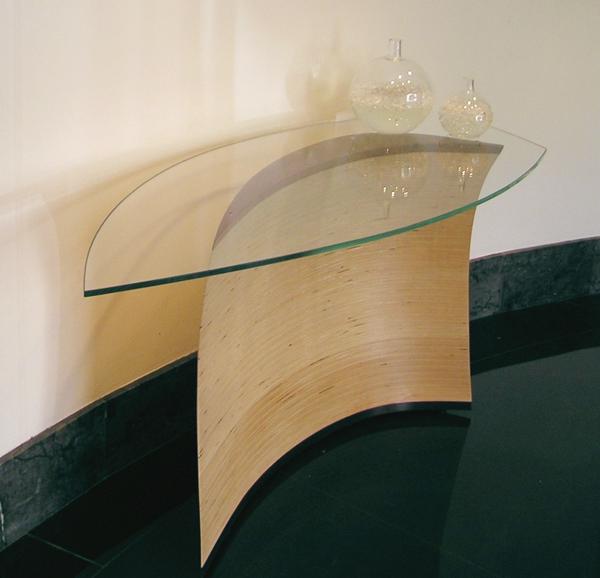 Arc Wood Boat