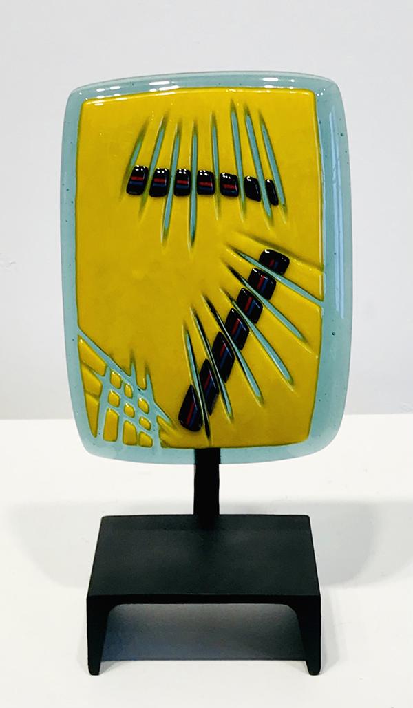 Buko Stand - Teal/yellow